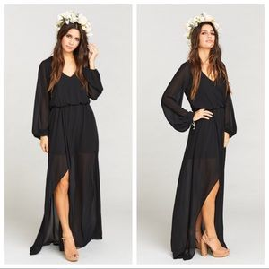 Show Me Your MuMu | Jocelyn Maxi Dress in Black